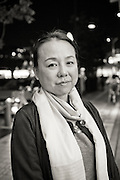 Rika Mashiko, grundaren av stödgruppen Hinan Mama Net.