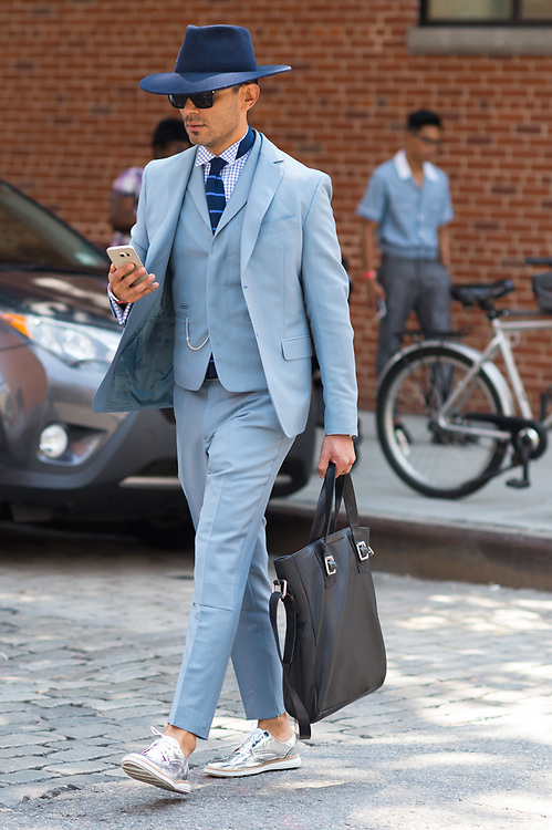 Blue Suit, NYFWM Day 1