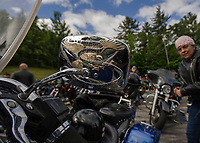 Motorcycle Week Ride to the Sky from Laconia Harley in Meredith.  Karen Bobotas for the Laconia Daily Sun
