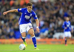 Che Adams of Birmingham City shapes to shoot before scoring the opening goal for his side (1-0) - Mandatory by-line: Paul Roberts/JMP - 08/08/2017 - FOOTBALL - St Andrew's Stadium - Birmingham, England - Birmingham City v Crawley Town - Carabao Cup