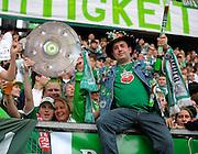 Wolfsburger Fans during the match between VfL Wolfsburg v Bayern Munich, 4th April 2009.