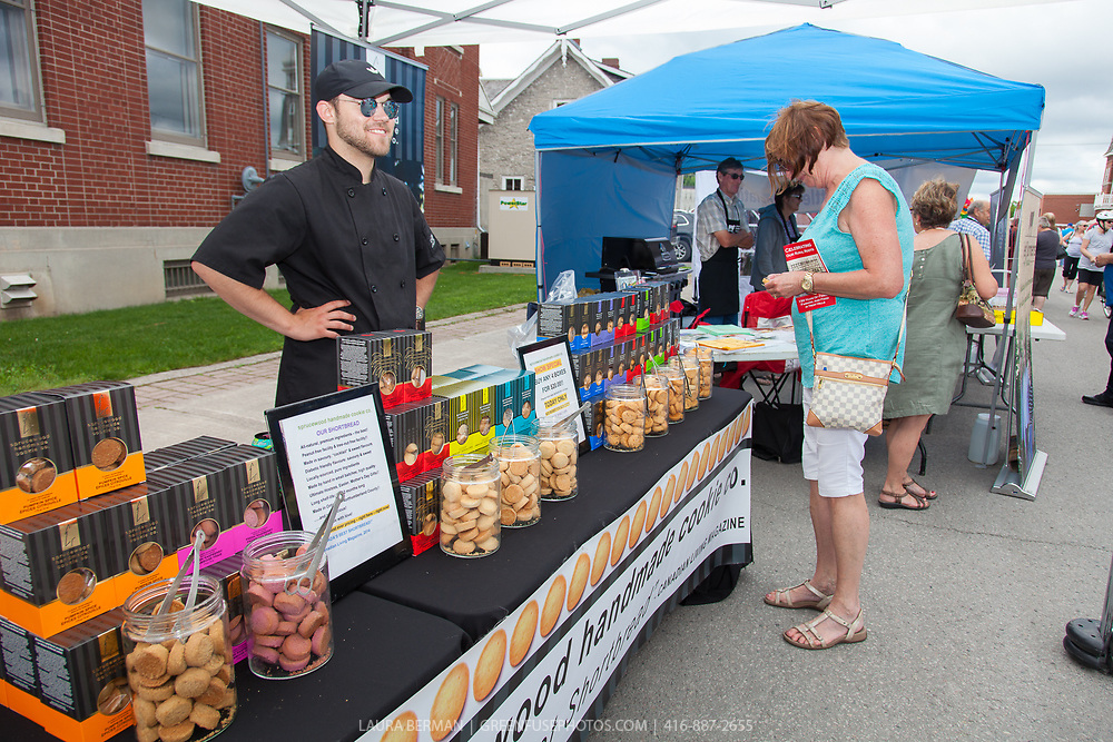At Incredible Edibles Festival 2017 in Campbellford,  Ontario