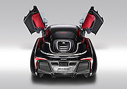 Is this modelled on the Batmobile? McLaren reveals one-off 'dream car' commissioned by a multi-millionaire and inspired by a grand piano<br /> <br /> Looking like a cross between a Batmobile and a MP4-12C supercar, it is a car any man would be proud of - even Batman.<br /> And legendary British sports-car maker, McLaren, has officially taken the wraps off its X-1, designed exclusively for an anonymous multi-millionaire.<br /> The McLaren X-1 is inspired by a series of classic vehicles - including the 200mph MP4-12C - and even a grand piano.<br /> Its owner wanted a one-off dream car - and it's like nothing else on the road.<br /> He approached Woking-based McLaren with the brief that they should build him something 'timeless' and with 'classical elegance'. And this is what he got.<br /> <br /> <br /> After three-years of discussion, design and construction, McLaren unveiled the X-1 at the Pebble Beach Concours show in Monterey, California.<br /> The supercar firm used the platform from its MP4-12C supercar for the X-1 - which means it has a 3.8-litre engine developing more than 600bhp.<br /> With an MP4-12C costing in the region of £170,000 and the new exclusive X-1 wrapped in a unique body, which took two-and-a-half years to build - it is estimated the car is worth over a casual £1m.<br /> The firm said it is the most ambitious example yet of their expertise.<br /> It has a whole new body made of advanced materials.<br /> <br /> Everything is bespoke, even down to the lights and wheels.<br /> The X-1 had its own development programme because crucially, it wasn't to be a concept car that would never see tarmac.<br /> It was to be a usable car, road legal and capable of travelling at supercar speeds. <br /> It used the 12C's engine and doors,but this is where the similarities ended after an incredible overhaul by Korean-born designer Hong Yeo.<br /> The result is a car inspired by a 1961 Facel Vega, 1953 Chrysler D'Elegance Ghia, 1959 Buick Electra, 1939 Mercedes-Ben