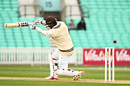 Kumar Sangakkara of Surrey County Cricket Club during the LV County Championship Div Two match at the Kia Oval, London<br /> Picture by Mark Chappell/Focus Images Ltd +44 77927 63340<br /> 26/04/2015