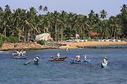 Fishing boats, Welligama, Sri Lanka