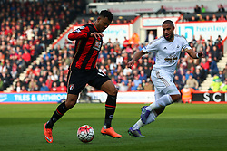 Joshua King of Bournemouth in action - Mandatory by-line: Jason Brown/JMP - Mobile 07966 386802 12/03/2016 - SPORT - FOOTBALL - Bournemouth, Vitality Stadium - AFC Bournemouth v Swansea City - Barclays Premier League