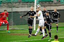 Bostjan Cesar of Slovenia during friendly football match between National teams of Slovenia and Belarus, on March 27, 2018 in SRC Stozice, Ljubljana, Slovenia. Photo by Matic Klansek Velej / Sportida
