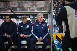 December 16, 2017 - Stuttgart, Germany - Bayerns coach Josef Heynckes before the kickoff of the German first division Bundesliga football match between VfB Stuttgart and Bayern Munich on December 16, 2017 in Stuttgart, Germany. (Credit Image: © Bartek Langer/NurPhoto via ZUMA Press)