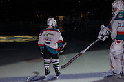 KELOWNA, CANADA - FEBRUARY 22:  Pepsi Player of the Game in the lineup with Brodan Salmond #31 of the Kelowna Rockets at the Kelowna Rockets game on February 22, 2017 at Prospera Place in Kelowna, British Columbia, Canada.  (Photo By Cindy Rogers/Nyasa Photography,  *** Local Caption ***