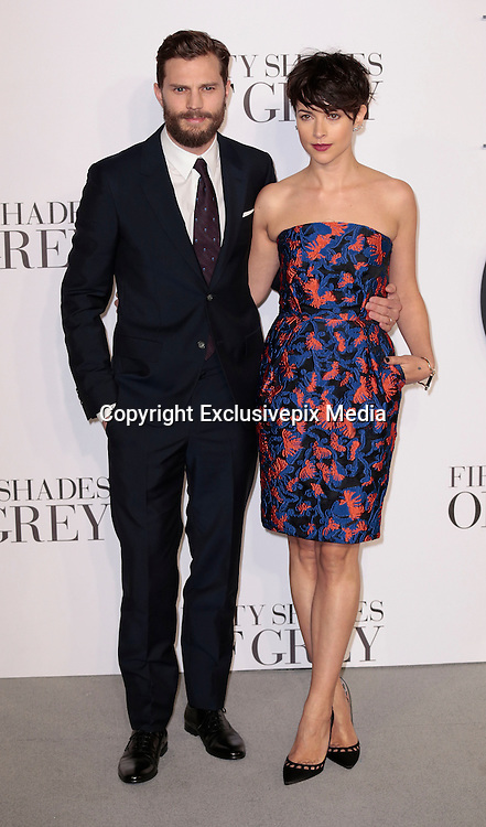 Feb 12, 2015 - 'Fifty Shades of Grey' UK Premiere - Red Carpet Arrivals at Odeon, Leicester Square<br /> <br /> Pictured: Jamie Dornan and wife Amelia Warner<br /> ©Exclusivepix Media