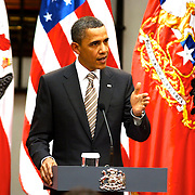 Editorial Only<br /> Title: Barack Obama CHILE<br /> <br /> Author: Francisco Arias <br /> <br /> Barack Obama<br /> Official vicit to Chile, <br /> <br /> Copyrigts: Francisco Arias <br /> <br /> Copyrigts notice:  Francisco Arias <br /> <br /> Date Create:21- 3- 2011<br /> <br /> City: Santiago<br /> <br /> Country: Chile<br /> <br /> Credit :FRANCISCO ARIAS