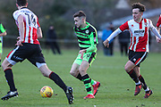 Forest Green Rovers Will Randall(19) runs forward during the The Central League match between Cheltenham Town Reserves and Forest Green Rovers Reserves at The Energy Check Training Ground, Cheltenham, United Kingdom on 28 November 2017. Photo by Shane Healey.