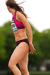 adidas Grand Prix Diamond League professional track & field meet: womens long jump, Erica JARDER, Sweden
