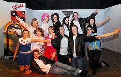 Transition Year students from Our Lady's Secondary School Belmullet during final rehersals for 'Grease' the musical. ..Pic Conor McKeown