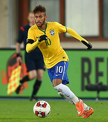 18.11.2014, Ernst Happel Stadion, Wien, AUT, Freundschaftsspiel, Oesterreich vs Brasilien, im Bild Neymar JR (BRA) // during the friendly match between Austria and Brasil at the Ernst Happel Stadion, Vienna, Austria on 2014/11/18. EXPA Pictures © 2014, PhotoCredit: EXPA/ Thomas Haumer