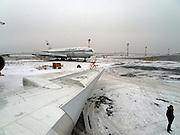 Flughafen der sibirischen Metropole Nowosibirsk.<br /> <br /> The international Airport in Novosibirsk.