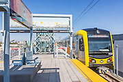Metro Expo Line Washington Blvd Exit at Culver City Station