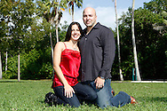 Freddy and Tiana Olcese photo shoot.  Coconut Grove on October 13, 2011.