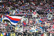 LYON - 23-02-2017, Olympique Lyon - AZ, Parc Olympique Lyonnais Stadion, supporters, sfeer.