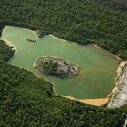 Cenote in Riviera Maya. Quintana Roo, Mexico.