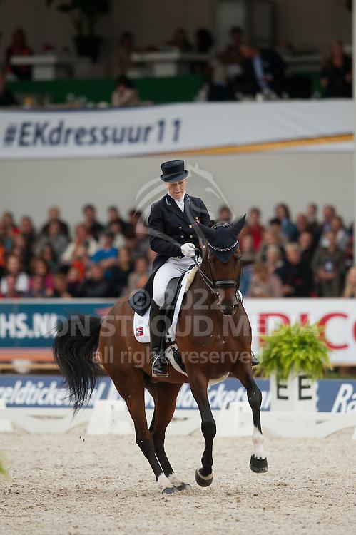 Siril Helljesen (NOR) & Dorina - Grand Prix (Team) - European Championship Dressage 2011 - Rotterdam, Netherlands - 18 August 2011