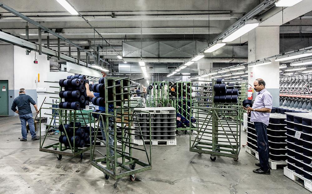 Italy, Valle Mosso, Biella, italian textile brand Reda 1865 ,