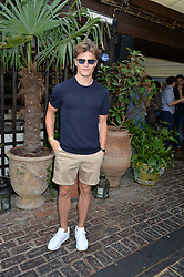 OLIVER CHESHIRE at the Warner Music Group Summer Party in association with British GQ held at Shoreditch House, Ebor Street, London E2 on 8th July 2015.