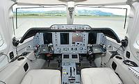 Raytheon 390 Premier 1A cockpit