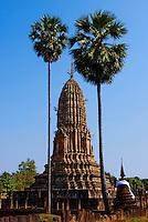 Thailande, Si Satchanalai, Wat Phra Si Ratana Mahatat // Thailand, Si Satchanalai, Wat Phra Si Ratana Mahatat