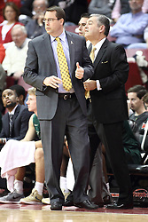 05 December 2015: Jerod Haase & Jeff Wulbrun. Illinois State Redbirds host the University of Alabama - Birmingham Blazers at Redbird Arena in Normal Illinois (Photo by Alan Look)
