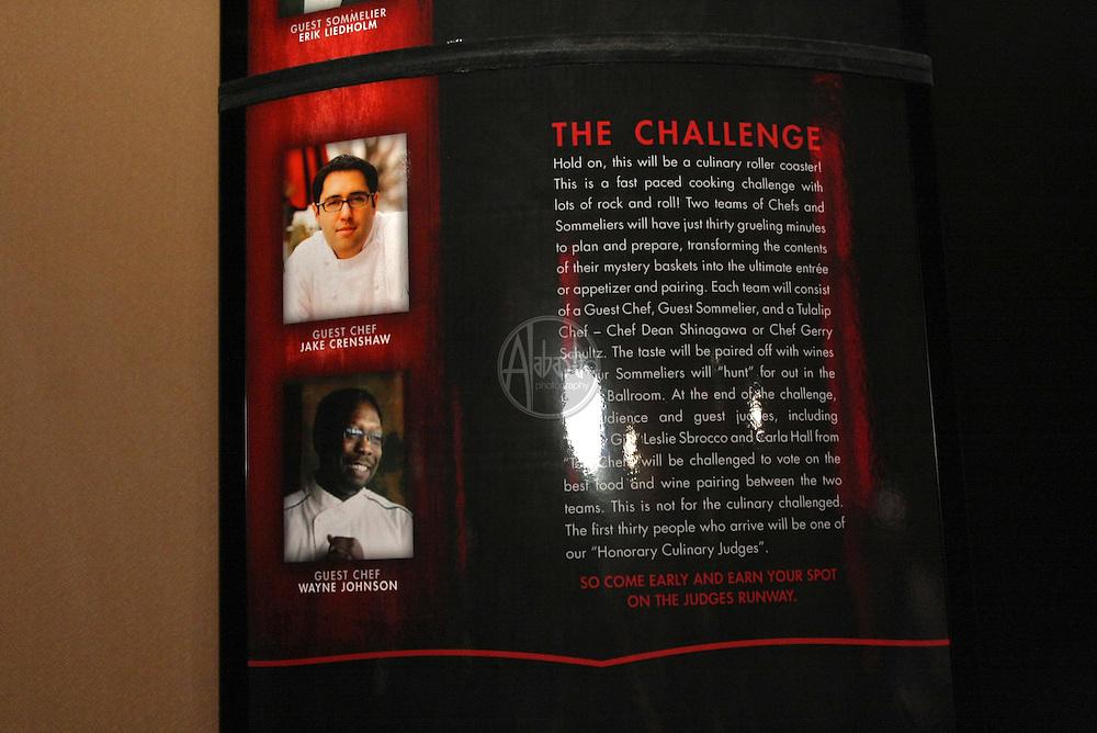 2011 Taste of Tulalip Rock-n-Roll Cooking Challenge.