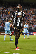 Notts County forward Jonathan Forte (14) celebrates after scoring a goal to make it 2-2 during the EFL Sky Bet League 2 match between Notts County and Coventry City at Meadow Lane, Nottingham, England on 18 May 2018. Picture by Jon Hobley.