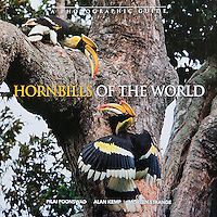 Hornbills Of The World is a photographic guide that gives descriptions of all the species and other general information like their unique breeding behavior.  Tim's photographs are used for most of the Asian species of hornbills.  This soft cover book is by Dr. Pilai Poonswad of Thailand, Dr. Alan Kemp of South Africa and Morten Strange from Singapore.<br />