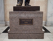 The James Harlan statue in the Hall of Columns in the United States Capitol building in Washington, D.C. on Monday, June 27, 2011.