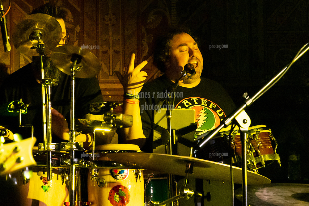 Steal Your Funk Featuring Doug Wimbish and Tim Palmieri with Rob Glassman on Percussion at The Stone Church Brattleboro VT on 7 April 2018