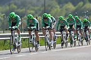 39° Giro del Trentino Melinda  1 TAPPA CRONOSQUADRE RIVA DEL GARDA ARCO 13.30KM   21-04-2015 © foto Daniele Mosna