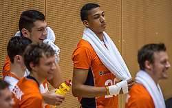 04-06-2016 NED: Nederland - Duitsland, Doetinchem<br /> Nederland speelt de tweede oefenwedstrijd in Doetinchem en verslaat Duitsland opnieuw met 3-1 / Fabian Plak #20