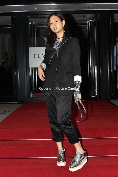 Designer Velika Hillary Hartono - Hillary Hartono showcases at Fashions Finest SS19 at London Fashion Week Day 2, De Vere Grand Connaught Rooms, London, UK. 16 September 2018.