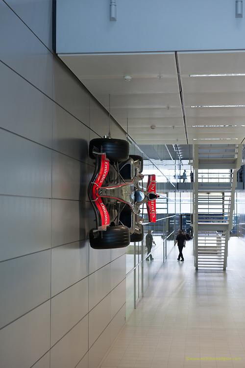 Suspended McLaren