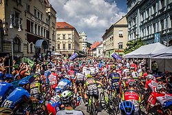 Riders prior to the Stage 3 of 24th Tour of Slovenia 2017 / Tour de Slovenie from Celje to Rogla (167,7 km) cycling race on June 16, 2017 in Slovenia. Photo by Vid Ponikvar / Sportida