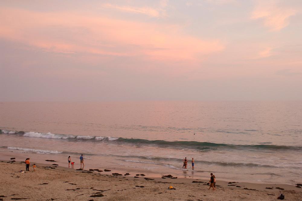 People on Beach, Laguna Beach, California, United States of America