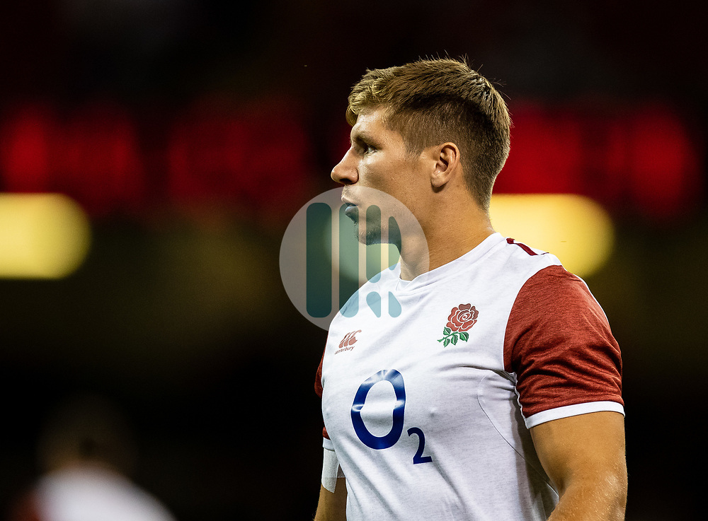 Piers Francis of England during the pre match warm up<br /> <br /> Photographer Simon King/Replay Images<br /> <br /> Friendly - Wales v England - Saturday 17th August 2019 - Principality Stadium - Cardiff<br /> <br /> World Copyright © Replay Images . All rights reserved. info@replayimages.co.uk - http://replayimages.co.uk