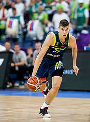 Vlatko Cancar of Slovenia during basketball match between National Teams of Iceland and Slovenia at Day 6 of the FIBA EuroBasket 2017 at Hartwall Arena in Helsinki, Finland on September 5, 2017. Photo by Vid Ponikvar / Sportida
