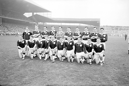 All Ireland Senior Football Final, .22.09.1963, 09.22.1963, 22nd September, 1963.Dublin V Galway. The Galway Team defeated by Dublin.Back Row Left to right Seamus Leyden, Mattie McDonagh, Nick Tierney, Mick MacReynolds, Micheal Moore, Enda Colleran and Sean Meade, ( People  nine and ten from left unidentified).Front Row Left to Right Sean Donnellan, Cyril Dunne, John Keenan,  B. Geraghty, Mick Garrett Captain, S. Bosco McDermott, Pat Donnellan, Martin Newell, (people nine and ten unidentified. from left)..Substitutes: Tommy Farrell, S. Brennan, J. Keeley, Brian Geraghty ..22.09.1963  22nd September 1963