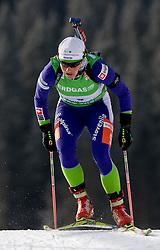 Andreja Mali of Slovenia at Women 15 km Individual of e.on Ruhrgas IBU World Cup Biathlon Pokljuka, on December 17, 2009, in Pokljuka, Slovenia. (Photo by Vid Ponikvar / Sportida)