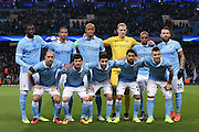 Manchester City  during the Champions League Round of 16 match between Manchester City and Dynamo Kiev at the Etihad Stadium, Manchester, England on 15 March 2016. Photo by Simon Davies.
