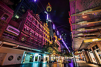 Pitt Street Pedestrian Walk @ Night