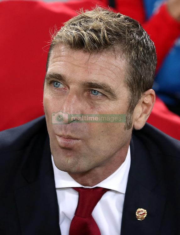 Spartak Moscow manager Massimo Carrera