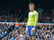 Leeds United goalkeeper Bailey Peacock-Farrell during the EFL Sky Bet Championship match between Leeds United and Bolton Wanderers at Elland Road, Leeds, England on 30 March 2018. Picture by Paul Thompson.