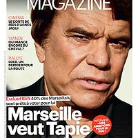 Le Parisien Magazine - Couverture Tapie